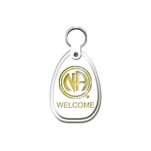 White Key Tag >> White Welcome Keytag The Greater Hollywood Area Of Narcotics Anonymous