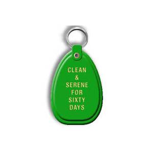 Green 60 Day Keytag
