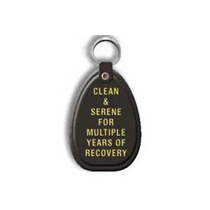 Black Multiple Year Keytag